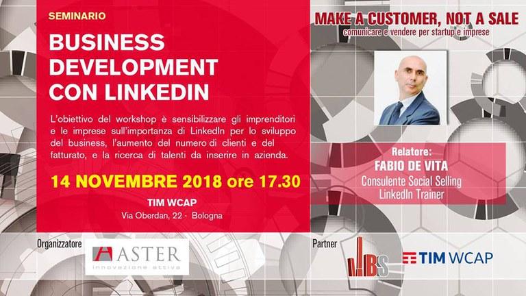 Business Development con Linkedin