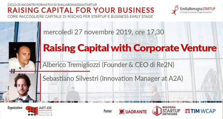 Raising Capital for your Business Chap V: Raising Capital with Corporate Venture