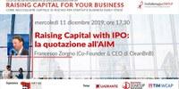 Raising Capital for your Business Chap Vi: Raising Capital with IPO e la quotazione all'AIM