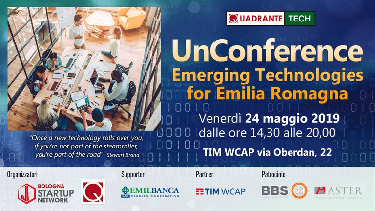 UnConference – Emerging Technologies for EmiliaRomagna